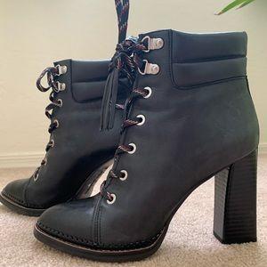 Sam Edelman High Heel Ankle Boots  Black 7.5